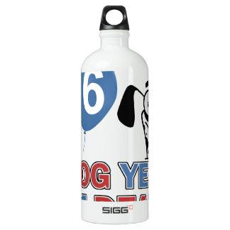 86 year old Dog years designs SIGG Traveler 1.0L Water Bottle