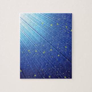 86Blue Background _rasterized Jigsaw Puzzle