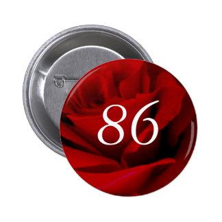 86th Birthday 2 Inch Round Button