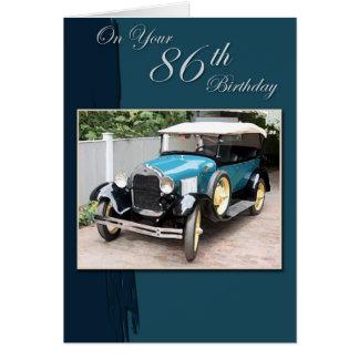 86th Birthday Card