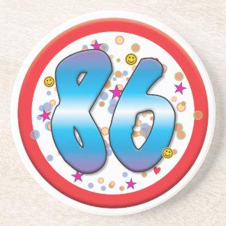 86th Birthday Coaster