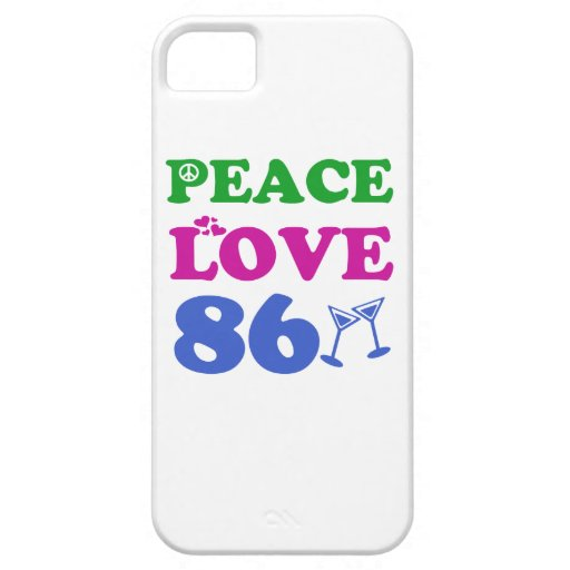 86th birthday designs cover for iPhone 5/5S