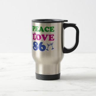 86th birthday designs coffee mug