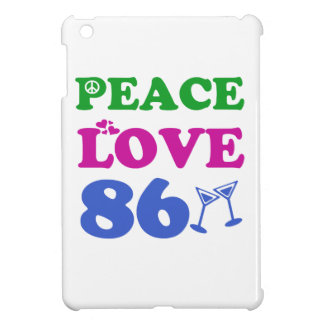 86th birthday designs iPad mini cover