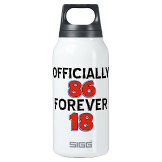 86th birthday designs SIGG thermo 0.3L insulated bottle