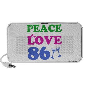 86th birthday designs speakers