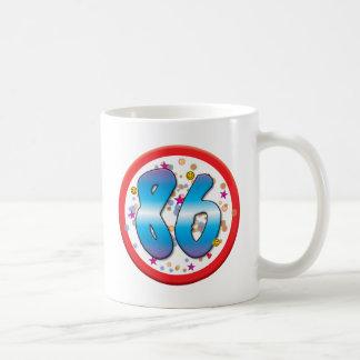 86th Birthday Mugs
