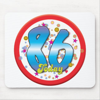 86th Birthday Today Mousepad