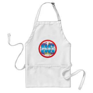 86th Birthday Today v2 Aprons