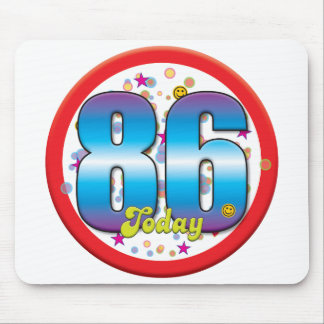 86th Birthday Today v2 Mouse Mat