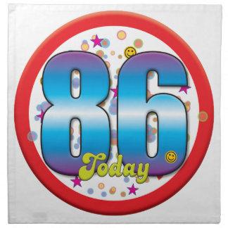 86th Birthday Today v2 Cloth Napkins