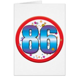 86th Birthday v2 Card