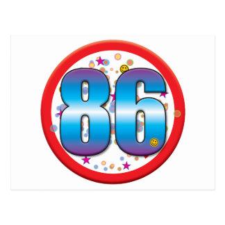 86th Birthday v2 Postcard