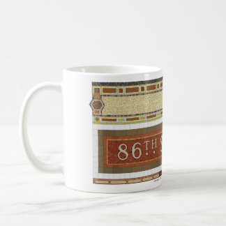 86th St NY Subway Mosaic Coffee Mug