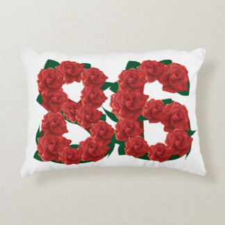 "86th weeding anniversary Accent Pillow 16"" x 12"""