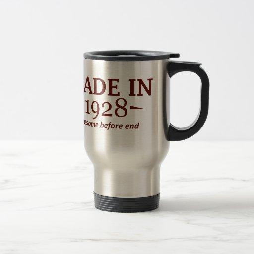 86th year birthday designs coffee mug