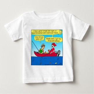 870 how did you make out fishing cartoon baby T-Shirt