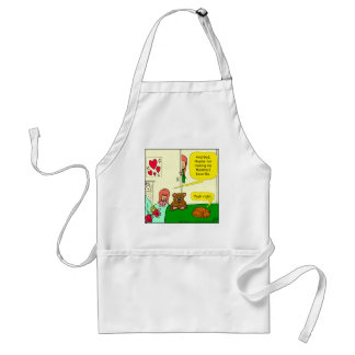 874 Mom's favorite child cartoon Standard Apron