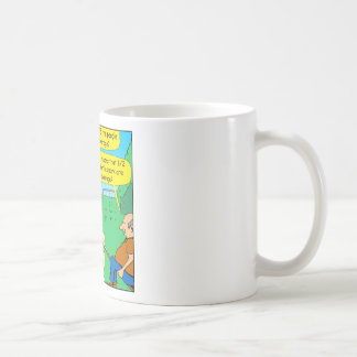 876 Half below average couple cartoon Coffee Mug