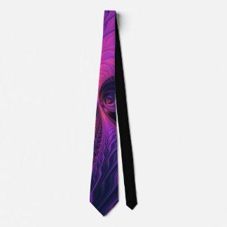 876 Pink/Purple Fractal Tie