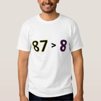 87 > 8 TEE SHIRT