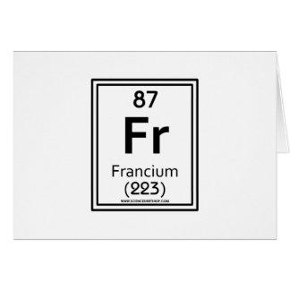 87 Francium Card