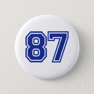 87 - number 2 inch round button