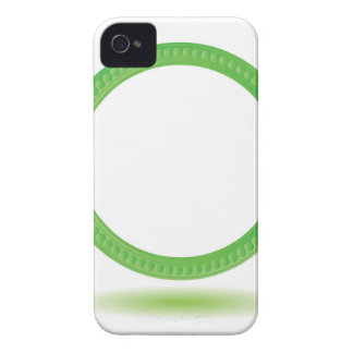87Greewn Label_rasterized iPhone 4 Case-Mate Case
