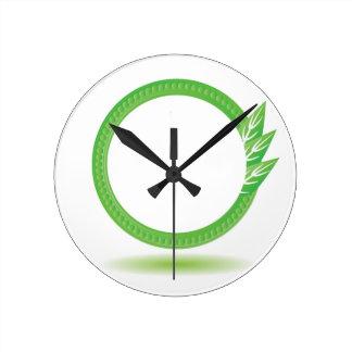 87Greewn Label_rasterized Round Clock