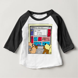 883 Search engine diagnosis cartoon Baby T-Shirt