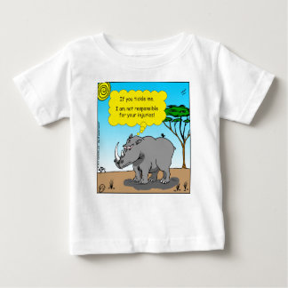 886 rhino tickle cartoon baby T-Shirt