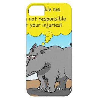 886 rhino tickle cartoon iPhone 5 cases