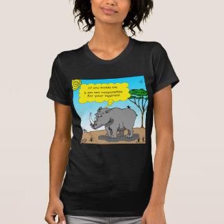 886 rhino tickle cartoon T-Shirt
