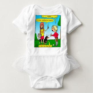 887 nerd wins argument cartoon baby bodysuit