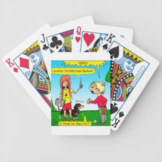 887 nerd wins argument cartoon bicycle playing cards