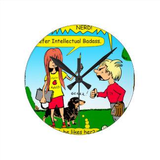 887 nerd wins argument cartoon clock