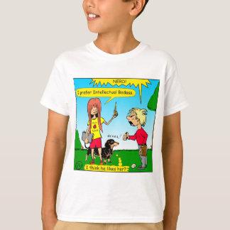887 nerd wins argument cartoon T-Shirt
