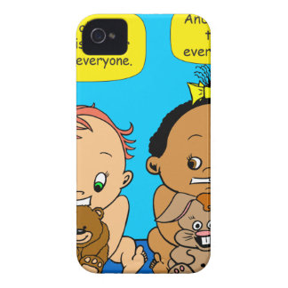 888 As I get older baby cartoon Case-Mate iPhone 4 Cases