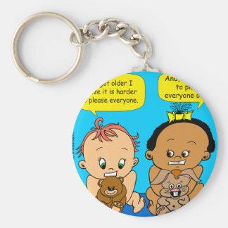 888 As I get older baby cartoon Keychain