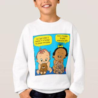 888 As I get older baby cartoon Sweatshirt