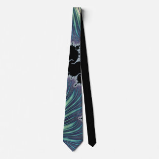 888 Mint/Lavender Fractal Tie
