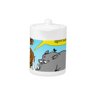 889 Rhino phallus cartoon