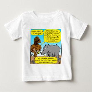 889 Rhino phallus cartoon Baby T-Shirt