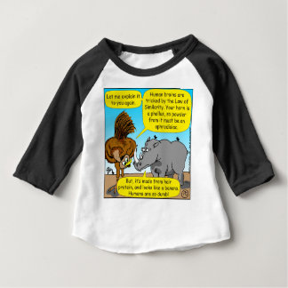 889 Rhino phallus cartoon Baby T-Shirt