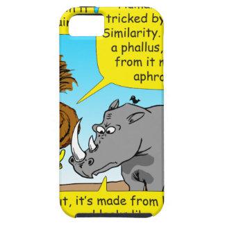 889 Rhino phallus cartoon Case For The iPhone 5