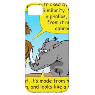 889 Rhino phallus cartoon iPhone 5 Covers