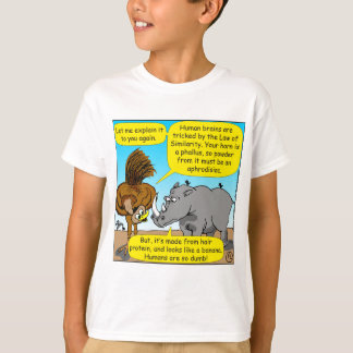 889 Rhino phallus cartoon T-Shirt