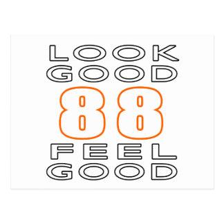 88 Look Good Feel Good Postcard