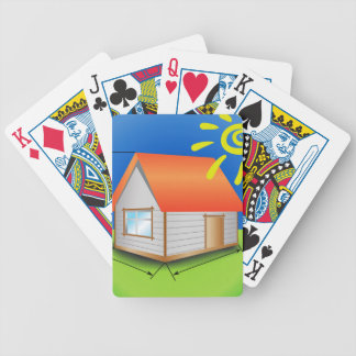 88House_rasterized Bicycle Playing Cards