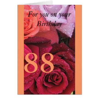 88th Birthday Card